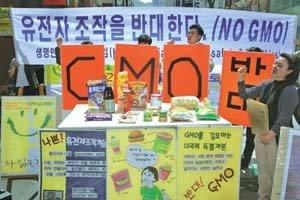 """준비 덜 된 GMO 표시제 """"걱정되네"""""""