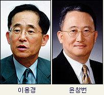 상한가 이만수 선수 부부  / 하한가 이용경·윤창번