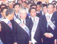 이회창 총재가 '프로'가 되는 날은?
