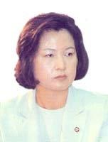 민주당 총재 비서실장 추미애 의원