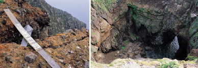 자연보호 독도, 역사가 버려져 있다