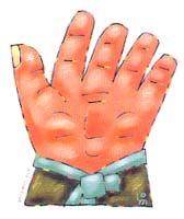 그 여자의 손