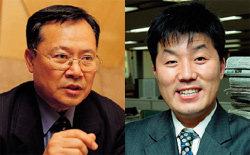 이젠 로버트 김 訪韓에 소매 걷어붙인 두 사람