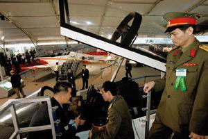 날개 달린 戰士들 한국 하늘 수놓다