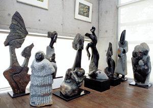 상한가 '쇼나 조각', 기막힌 돌의 미학