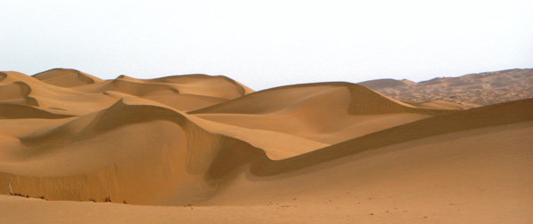 죽음의 타클라마칸사막 버스로 '씽씽'