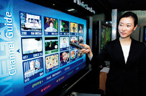 TV와 인터넷 합체 'IPTV' 뜰까