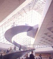전통-현대의 만남 '루브르 박물관'