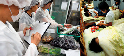 식품에 방사선 쬐면 식중독 원천차단?