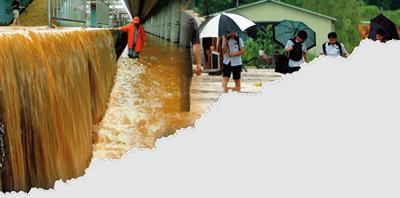 물폭탄 땜질처방 재난관리체계 부실 여전