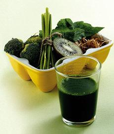 약만큼 뛰어난  '초록색 음식'