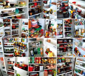 냉장고 통해 들여다본 삶의 속살