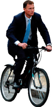 """ I love bicycle"""