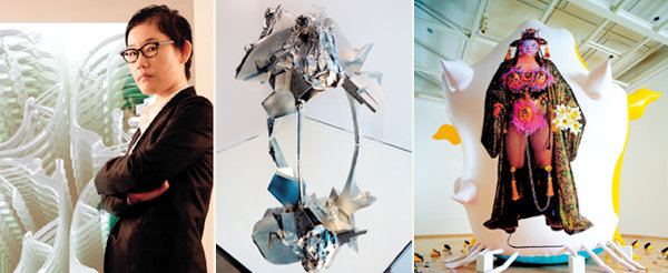 LEE BUL, 세계 미술계의 슈퍼스타가 된 휘황찬란한 몬스터