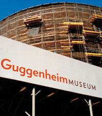 뉴욕 구겐하임미술관 공사와 전시 '동시 관람'의 즐거움