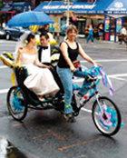 자전거 인력거 '페디캡' 뉴욕 새 명물로 떴다