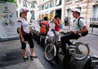 자전거 대여 시스템에 사회주의 색채 '물씬'