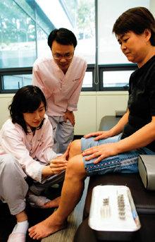 다리 고통 '말끔' 걸음걸이는 '깔끔'