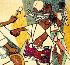 '민중미술'이 청와대에 걸린 까닭은