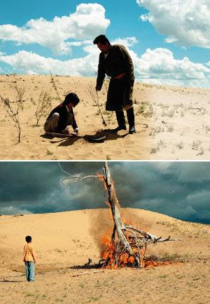 탈북 母子의 힘겨운 유랑 몽골 사내의 외로운 정착