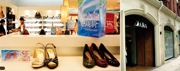 눈과 입이 즐거운 쇼핑시티,상하이