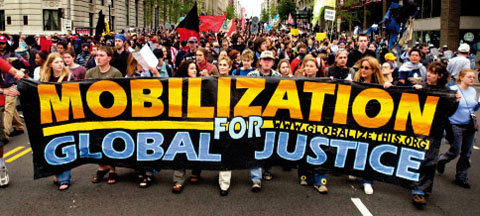 서구 선진국들의 이기적인 세계화