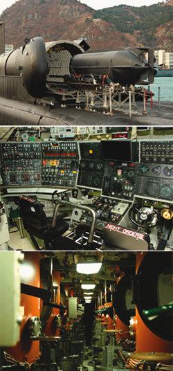 美 오하이오 핵잠수함 왜 공개했나