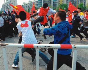 중국 시위대 배후세력은 CSSA(중국 유학생·학자 연합회)?