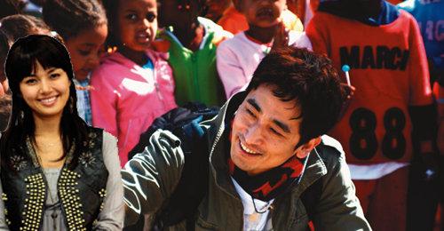 차인표 신애라의 글로벌 '동심 사랑'