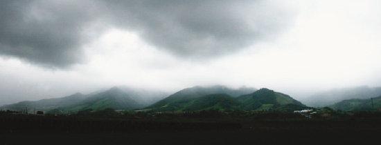 흰 구름도 쉬어 가는 오지 세상 향해 손 내밀다