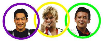 올림픽 '훈남'들 女心 잡기 금메달