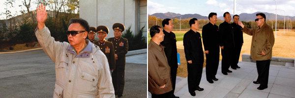 김정일 '사진정치' 세계언론  놀아난다