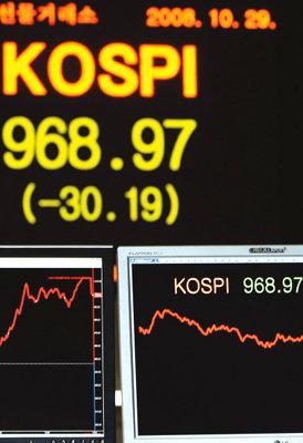 한국 경제  '삼각 파도'가 덮친다
