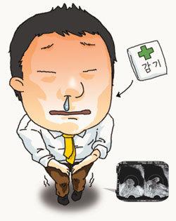 전립샘 비대증 환자 감기약 주의!