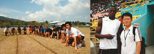 전 국민이 달리기 선수, 자메이카