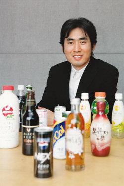 성공 부르는 음료 디자인 '미다스의 손'
