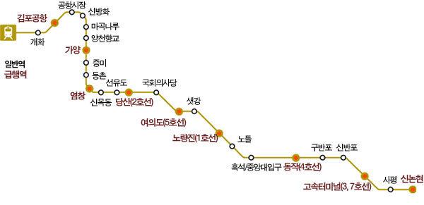 골드라인 뜨자 '강남, 강남으로!'