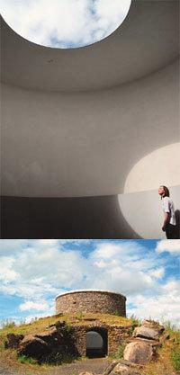 우주와 대화, 천장에 구멍 하나