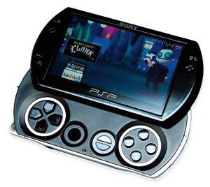 다기능 장착 휴대 게임기 소니 'PSP GO'