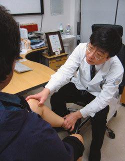 인체 조직과 세포 이용 손상된 무릎, 수술 없이 치료