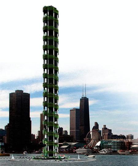 30층 농사빌딩, 5만명 먹여 살린다?
