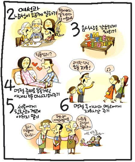 행복한 설을 보내는 10가지 방법