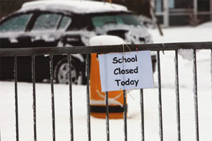 We hope travel will be safe for us to commute to school on Thursday