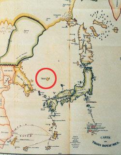 19세기 클라프로트 지도 '독도는 한국 땅'