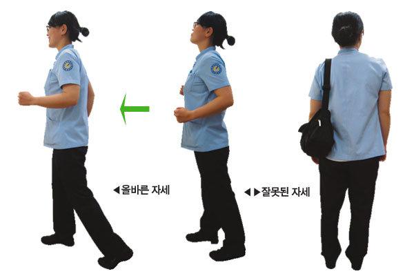 가슴 펴고 11자로 '뚜벅 뚜벅' 제대로 걷는 3가지 비법