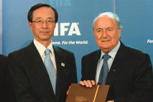 2022년 월드컵 유치 '킥오프'