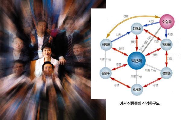 """박근혜, 우후죽순 대항마에 """"…"""""""