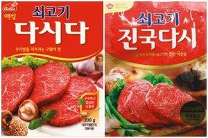 """조미료>>> """"톡톡!"""" 매출 2000억대 다시다류 혈투"""