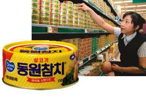 참치 캔>>> 바람 난 참치… '1강 2중' 맛 대결