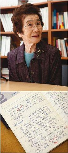 욘사마 책 일본어로 번역 팔순 할머니 남다른 한국어 사랑